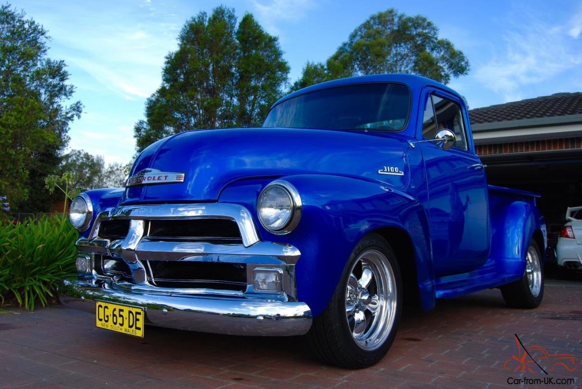 All Chevy 1955 chevrolet 3100 : Chevrolet 3100 Truck 350 Chev 4 Speed Auto
