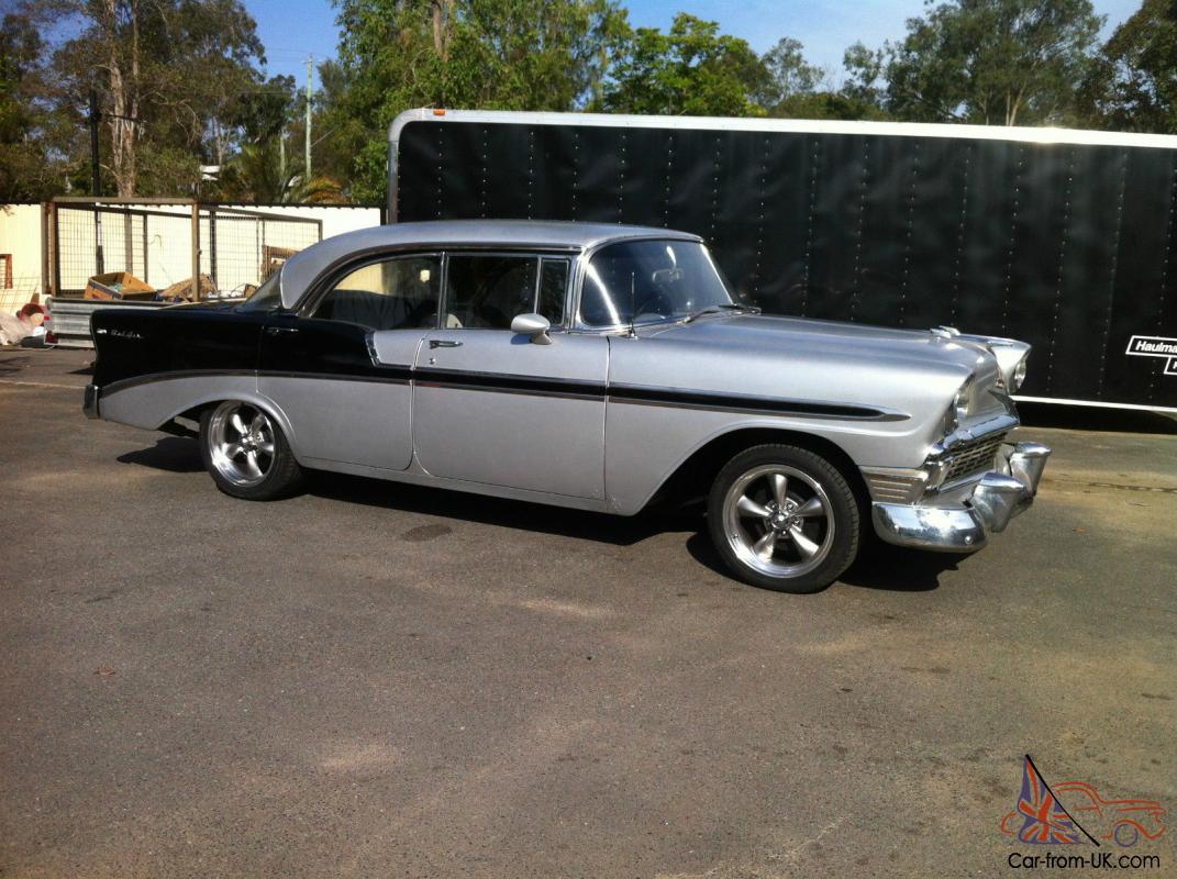 1956 Chevy 4 Door Hardtop Belair 56 Chevrolet Hardtop Belair In Qld