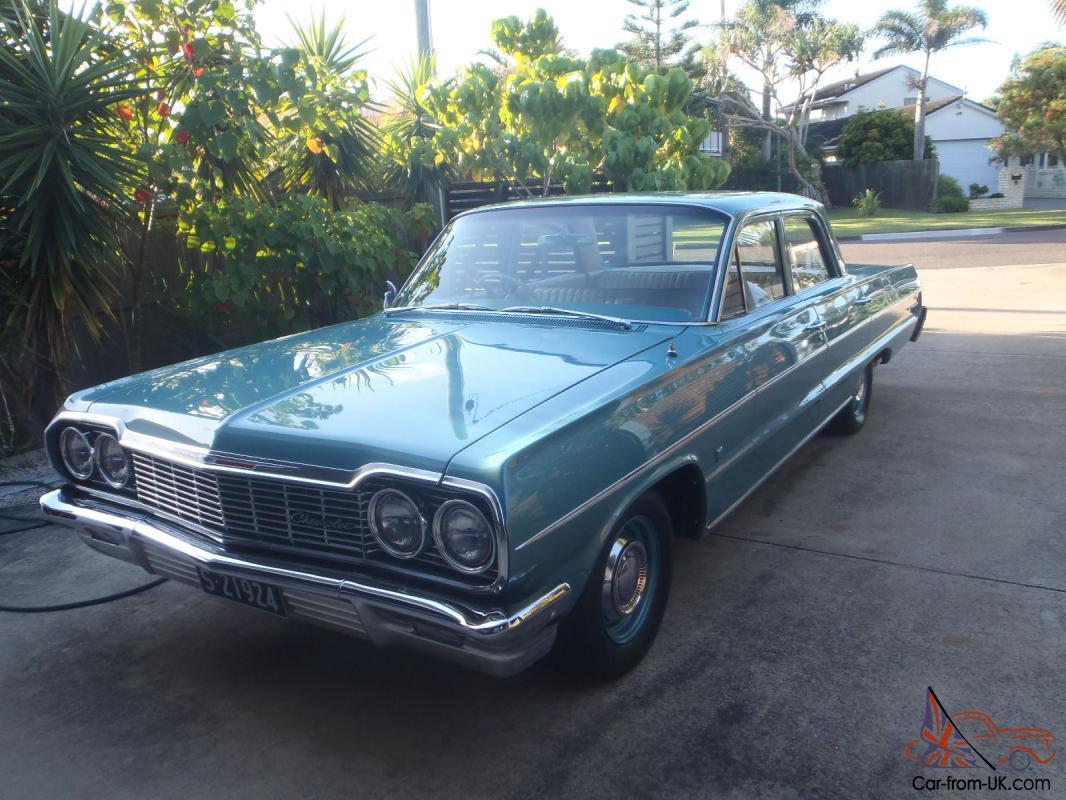 All Chevy chevy bel air 1964 : Australian Delivered Chevrolet Belair Sedan Restored Showcar
