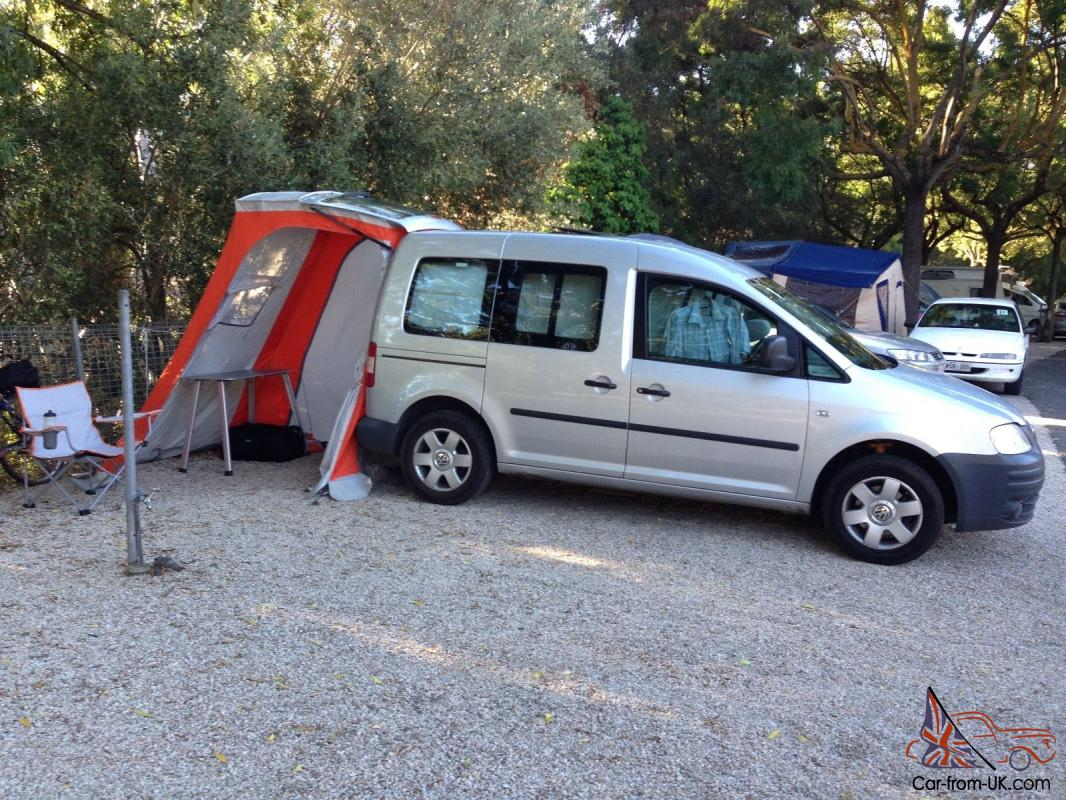 2008 Vw Caddy Life With Camper Package