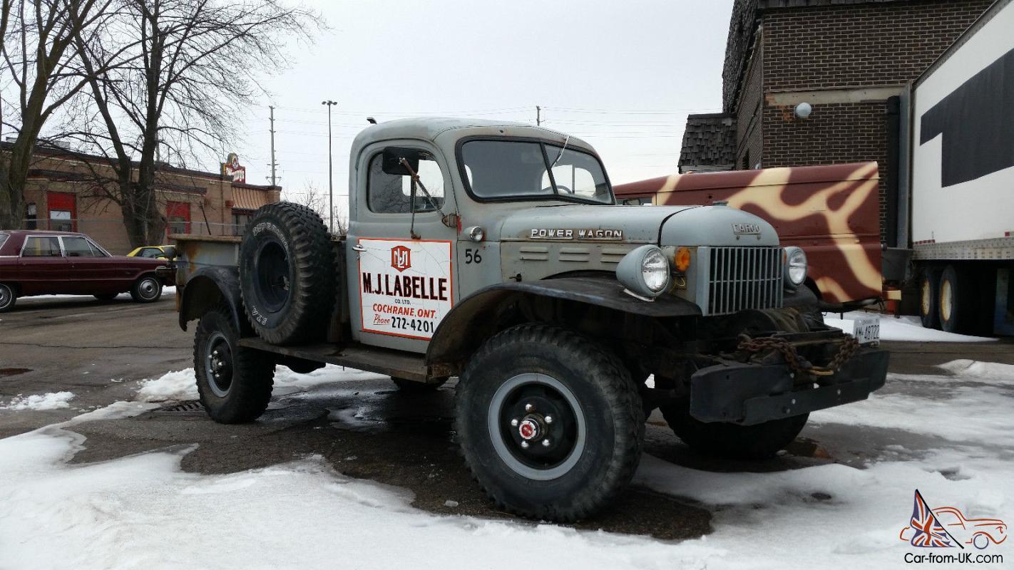 Dodge Power Wagon For Sale >> Dodge Power Wagon Base