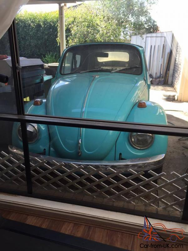 1968 Volkswagen VW Beetle Convertible Running NEW Paint Windscreen in VIC