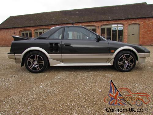 Toyota Mr2 Mk1 1986 Covered 32k From New Imported 2003 Stunning Condition