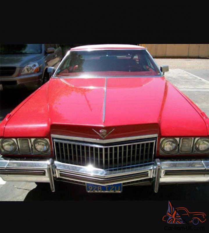 Cadillac Coupe 1973 BIG Block Mssive Rims AND Sterio LOW