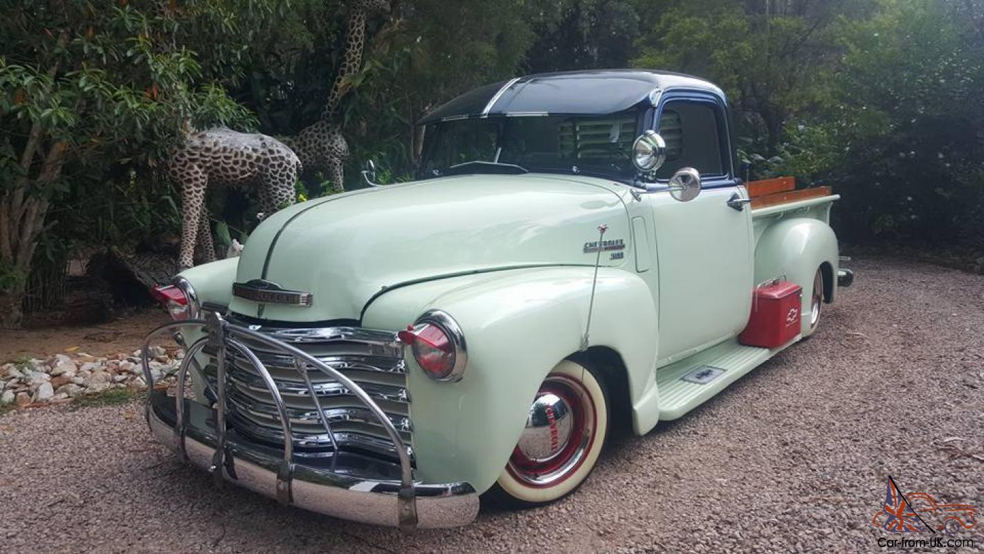 1947 Chevrolet 3100 Pickup Truck Ute Lowrider Bomb Cruiser Rat Rod Custom Chevy