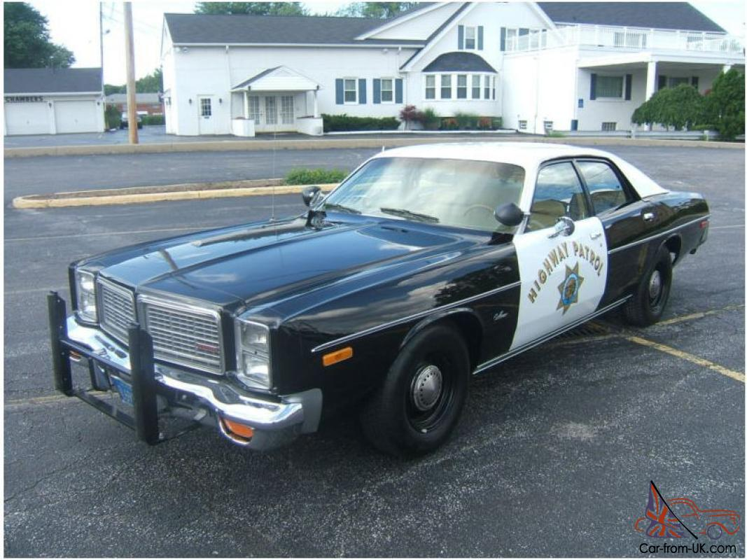 Police Cars For Sale >> Police Car Dodge Monaco American California Patrol Classic Mussel Blues Brothers In Vic