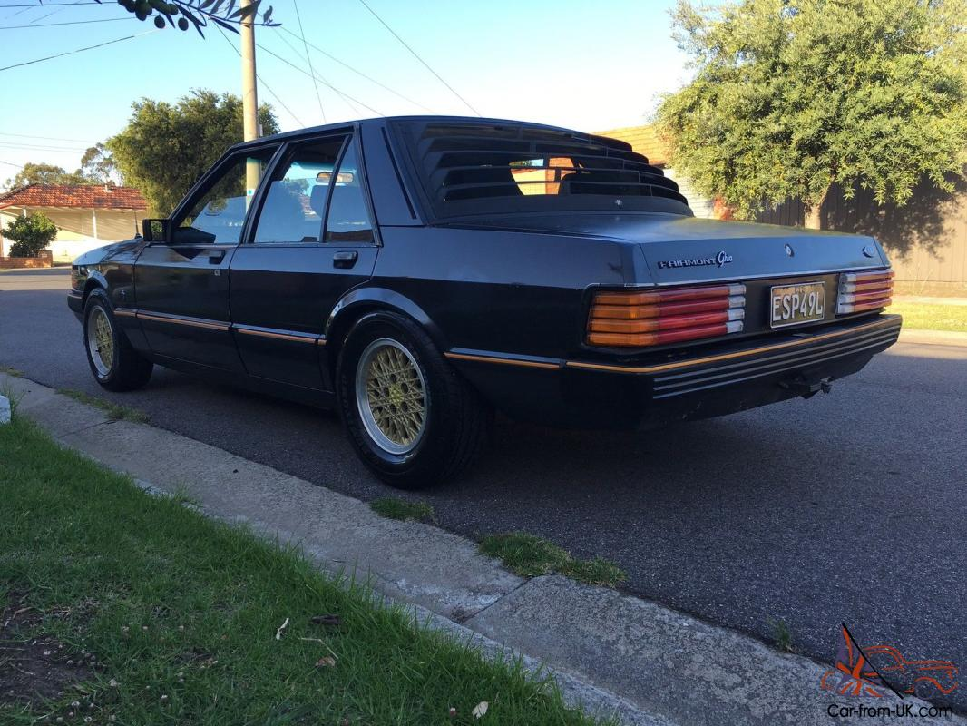 Ford 1982 Factory Charcoal XE Fairmont Ghia ESP 4 1 Manual in VIC