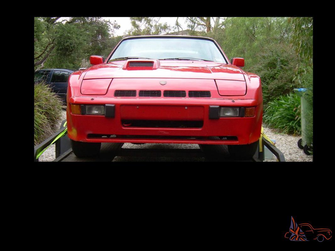 Porsche 924 Turbo Carrera Gt Replica Project In Vic