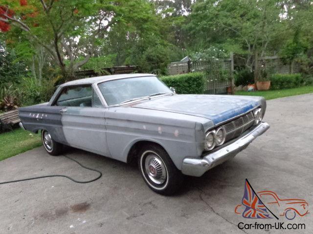 1964 Mercury Comet Caliente 2 Door Fastback K Code Running 289 Wc4