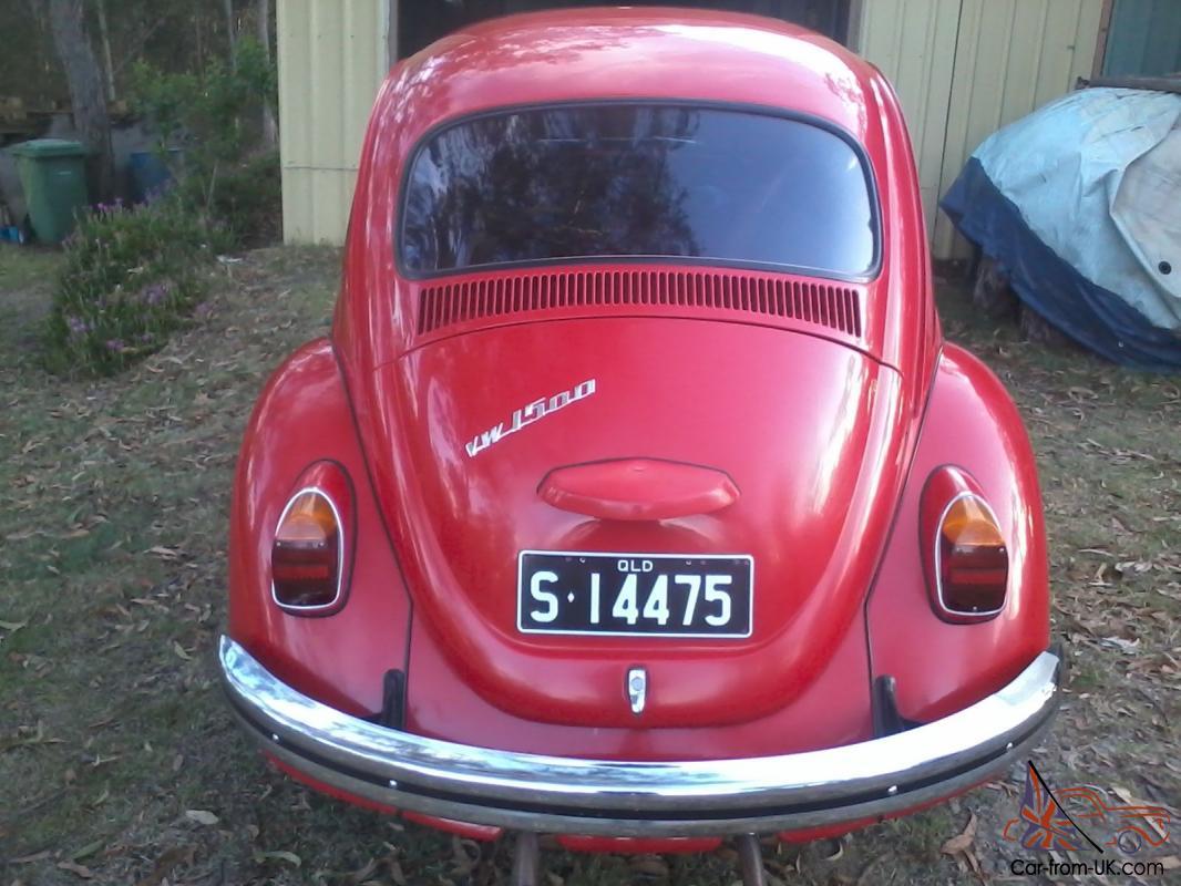 69 VW Beetle in QLD