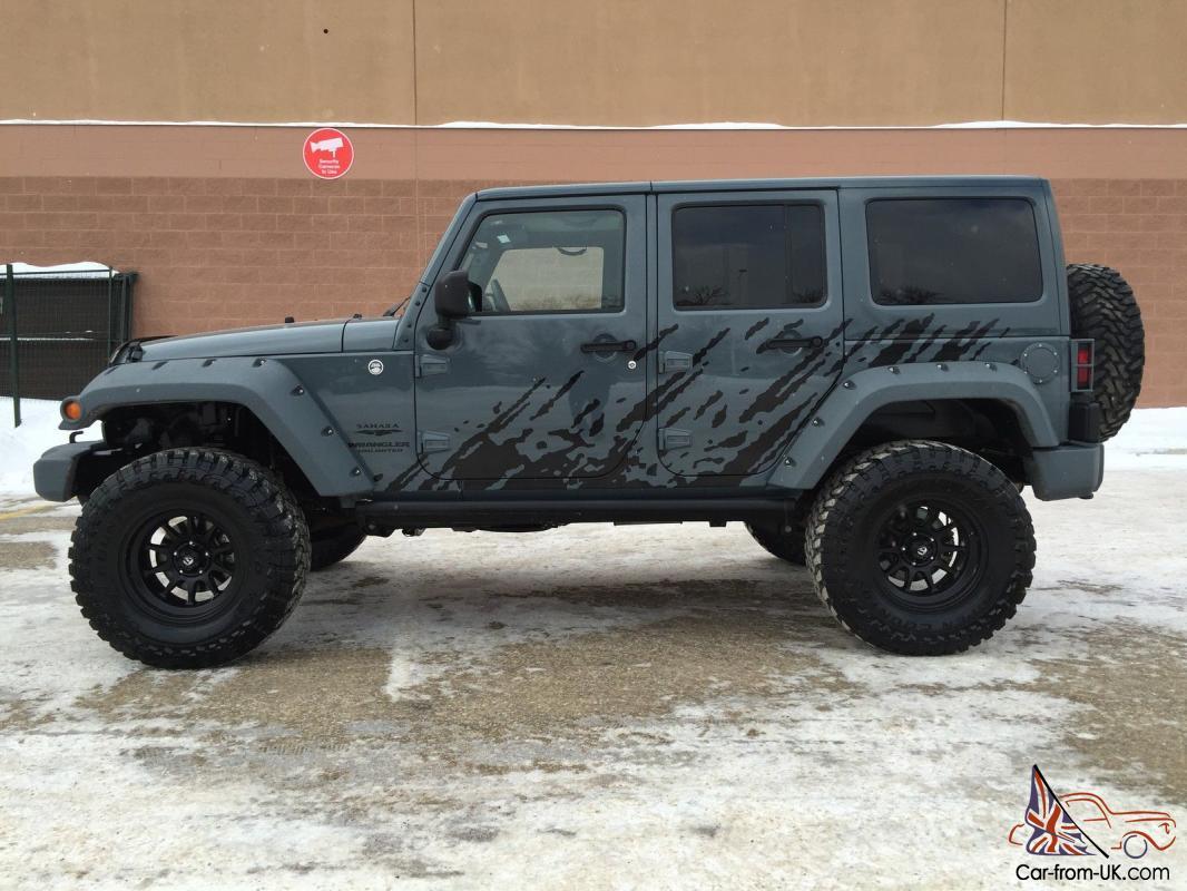 Jeep Wrangler Rhino >> Jeep Wrangler Unlimited Sahara Custom Rhino Linings Work