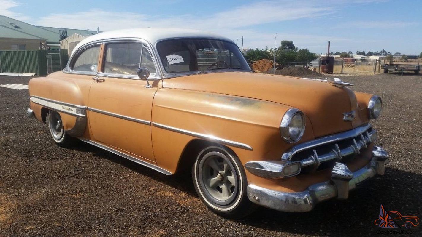 All Chevy 1954 chevrolet belair : Chevrolet Belair 2 Door Post in VIC