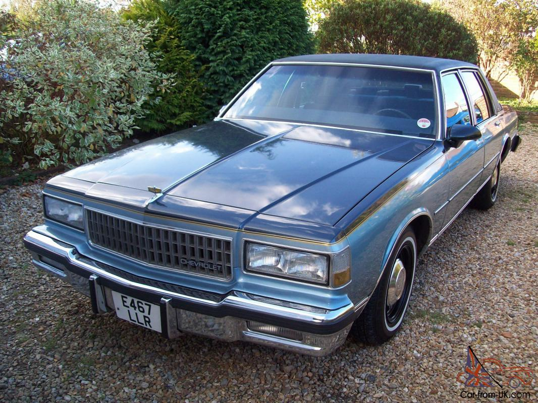 All Chevy 1987 chevrolet caprice classic brougham : 1987 CHEVROLET CAPRICE CLASSIC BROUGHAM