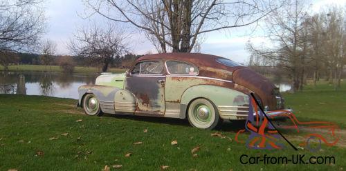1948 Chevrolet Fleetline 2dr Aerosedan V8