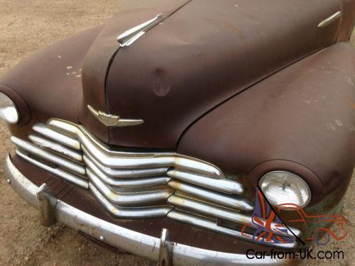 1947 Chevrolet Chevy Fleetline Aero Sedan 2 Door Project
