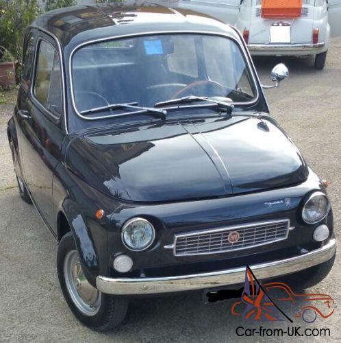 1971 Classic Fiat 500f Limited Edition Francis Lombardi My Car Rare