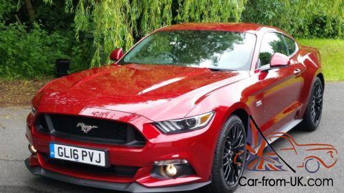 Ford Mustang 5 0 V8 Fastback 2016