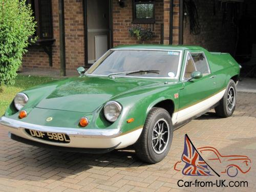 1972 LOTUS EUROPA TWIN-CAM 5 SPEED, NEW CHASSIS PLUS QUALITY ENGINE REBUILD