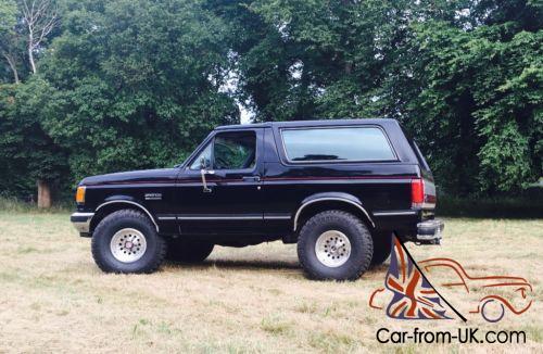 Ford Bronco 4x4 Windsor 351 V8 Xlt