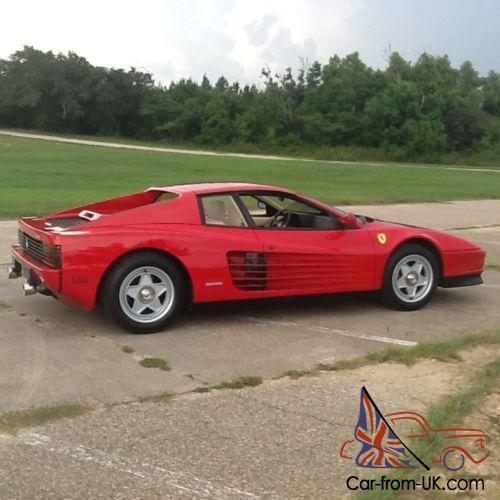 1980 Ferrari Testarossa 1986