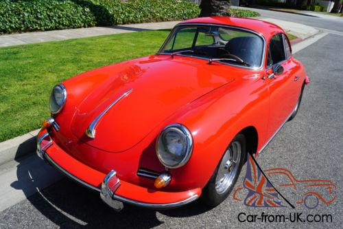 1963 Porsche 356 B COUPE WITH A 1600 S90 TYPE 616/7 T6 ENGINE!