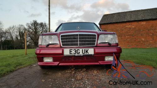 1994 MERCEDES w124 E36 AMG AUTO RED -one of 12 RHD -very rare-3,6 engine  272 bhp
