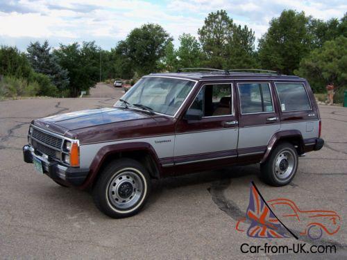1987 Jeep Cherokee Wagoneer