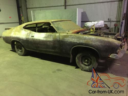 65b96fe3 XB Ford Falcon Coupe 1974 Barn Find