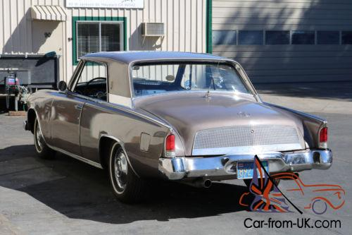 1962 Studebaker R2 Supercharged GT Hawk