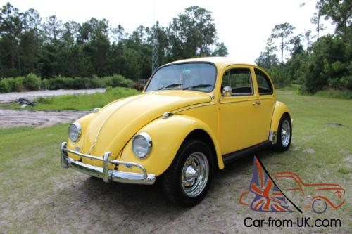 1967 Vw Bug >> 1967 Volkswagen Beetle Classic Vw 1600cc Video Inside 77 Pics Free Shipping