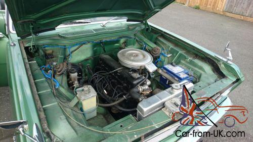 Vauxhall cresta pc delux 3 3 6 cylinder manual green classic car