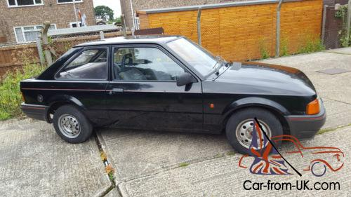 Image result for 1989 black ford escort 1.6 3 door