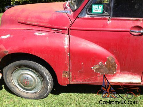 Morris Minor Van Ex Raa Project Brisbane In Qld