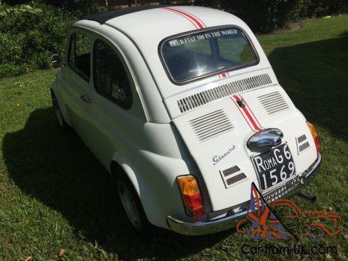 1971 Fiat 500 Giannini