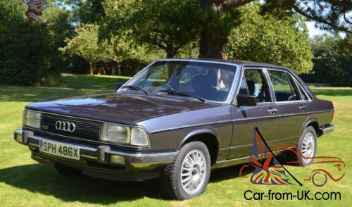 1982 Audi 100 GL 5E (Audi C2) Automatic