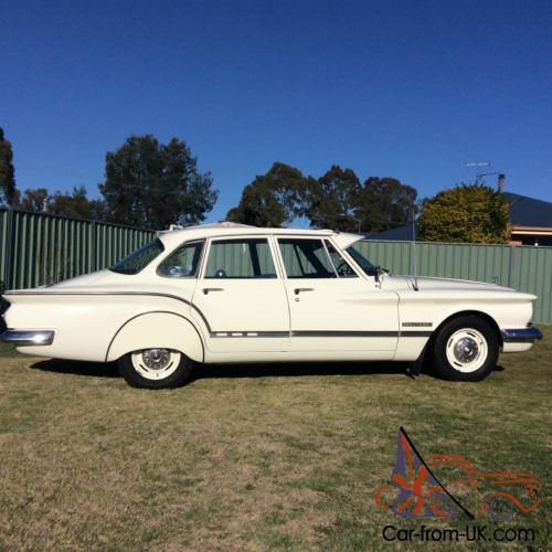 1962 SV1 Chrysler Valiant TOP Condition White Blue Trim