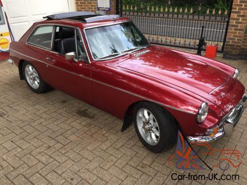 MGC GT RED 1968