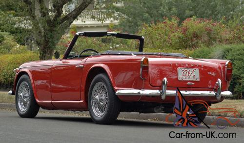 1965 Triumph Other : TR4-A : Frame off restoration
