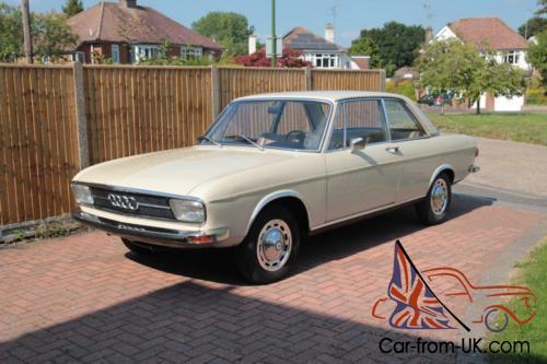 1971 2-door Audi 100LS