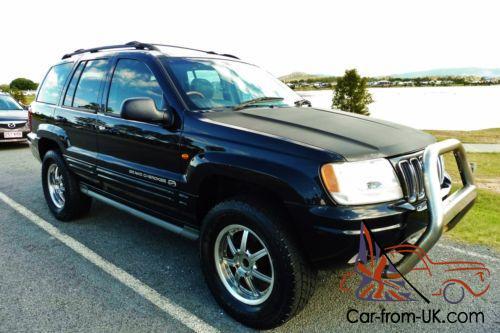 2003 jeep grand cherokee overland wg v8 automatic wagon 4wd 4x4 chrysler in qld 2003 jeep grand cherokee overland wg v8