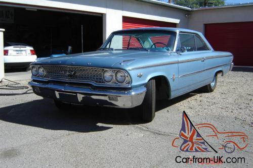 1963 Ford Galaxie R-code