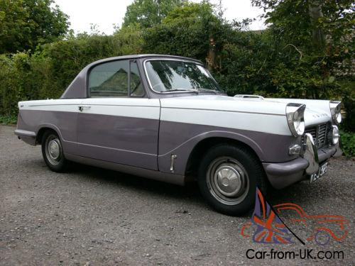 Triumph Herald Coupe - 948cc - 1959 - smooth roof - 14th oldest surviving  Coupe