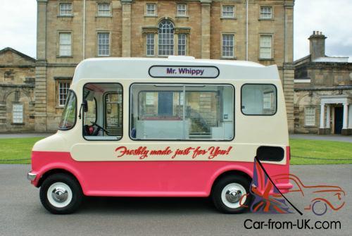 Van Hire Bedford >> Vintage Bedford Ice Cream Van