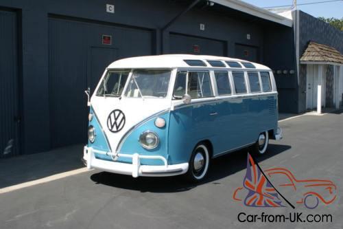 1965 Volkswagen Bus Vanagon Deluxe