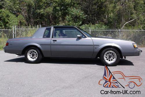 Buick Regal T Type >> 1987 Buick Regal T Type Turbo