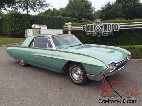 Ford Thunderbird 1963 Two Door Hardtop 390