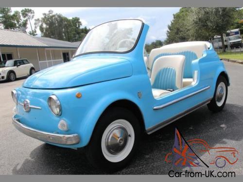 1971 Fiat 500 Jolly Replica