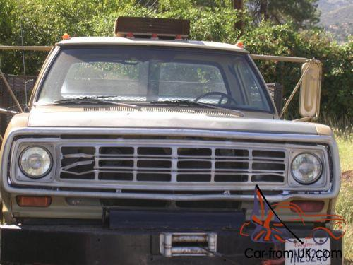 1974 Dodge Power Wagon W300