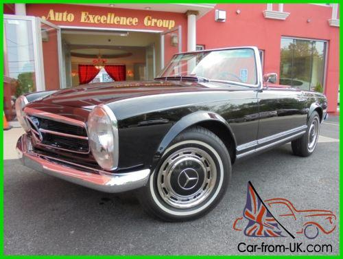 1967 mercedes benz 250sl convertible car from uk com