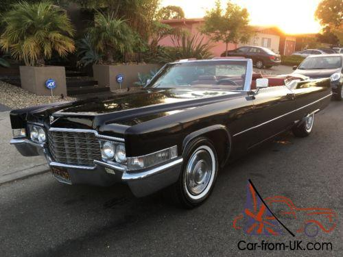 1969 Cadillac Deville All Original 65k